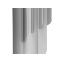 Indigo 500х12 секц.   Алюминиевый радиатор Royal Thermo