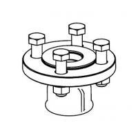 Адаптер для подсоединения пружинного предохранительного клапана ARI-SAFE DN 32/50 7747312071