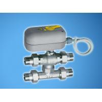 Моторизованный трехходовой зонный шаровой кран с тройником-байпасом и ручной блокировкой (НР-НР-НР-НР) | FA 300825 108
