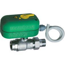 Моторизованный двухходовой зонный шаровой кран с ручной деблокировкой (НР-ВР) | FA 300617 1240