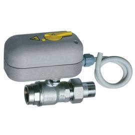 Моторизованный двухходовой зонный шаровой кран с ручной блокировкой (ВР-НР)   FA 300717 11408