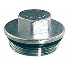 """FK 4150 1 Хромированная заглушка для коллекторов (НР) FAR, диаметр :1"""""""