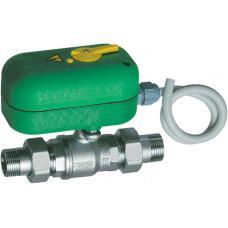 Моторизованный двухходовой зонный шаровой кран с ручной деблокировкой (НР-НР) | FA 300615 3440