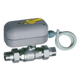 Моторизованный двухходовой зонный шаровой кран с ручной блокировкой (НР-НР) | FA 300815 108