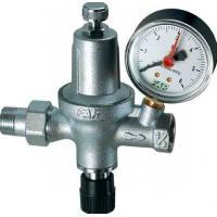 Хромированный автоматический редуктор давления НР-ВР с манометром (для системы отопления)   FA 2110 12
