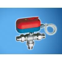 Моторизованный трехходовой смесительный зонный шаровой кран с ручной блокировкой (НР-НР-НР) | FA 301120 140