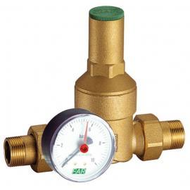 Латунный редуктор давления НР-НР с манометром для системы водоснабжения   FA 2805 114