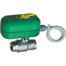 Моторизованный двухходовой зонный шаровой кран с ручной деблокировкой (ВР-ВР) | FA 300616 3440