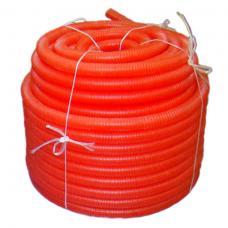 3403 Защитная гофротруба Sanext ПНД 50 для труб 32, красная