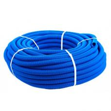 3414 Защитная гофротруба Sanext ПНД 50 для труб 32, синяя