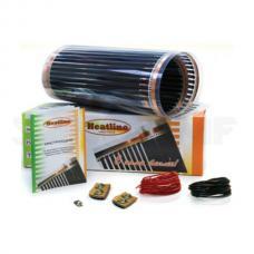 Теплый пол плёночный сверхтонкий HEATLINE HLS-150-1,0 0,5х2м 150Вт/м 1м2