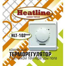Терморегулятор HEATLINE HLT-102 NEW электромеханический, белый