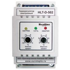 Терморегулятор на DIN-рейку для систем «Heatline – АНТИЛЕД» HEATLINE HLT-D-502
