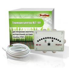Терморегулятор для систем обогрева грунта HEATLINE HLT-101 электр, автомат, IP55