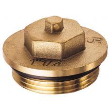 FK 4149 1 | Латунная заглушка (НР) из DZR-латуни, с уплотнением.