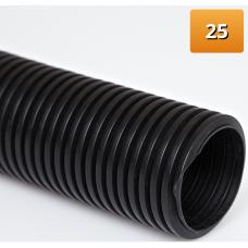 11371601025 | Гофротруба защитн.для ПЭ-трубы 25, бухта 25м