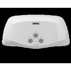 Водонагреватель проточный Zanussi 3-logic 5,5 TS (душ+кран): купить с доставкой.