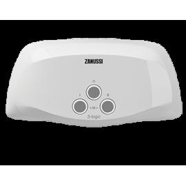 Водонагреватель проточный Zanussi 3-logic 3,5 S (душ): купить с доставкой.